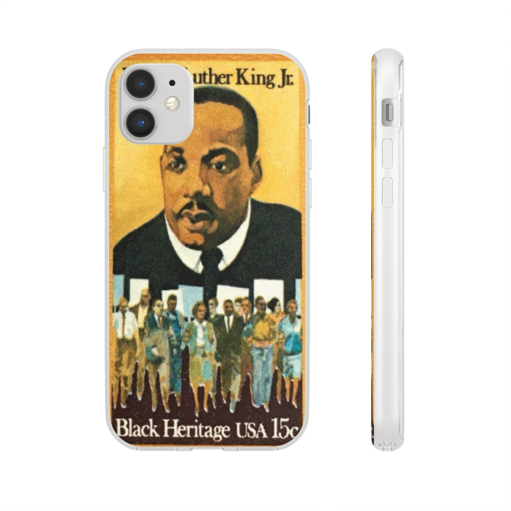 VINTAGE BLACK HERITAGE: MLK JR PHONE CASE