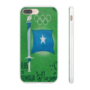 VINTAGE 1960 OLYMPIC GAMES STAMP PHONE CASE