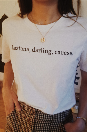 Laztana, darling, caress. Unisex T-shirt
