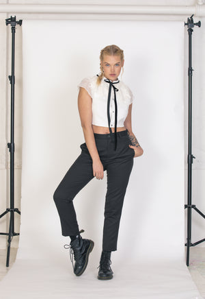 Load image into Gallery viewer, Rock & Billy Pinstripe Trouser