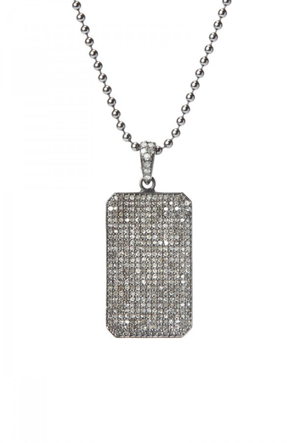 Brooklyn - Diamond Dog Tag