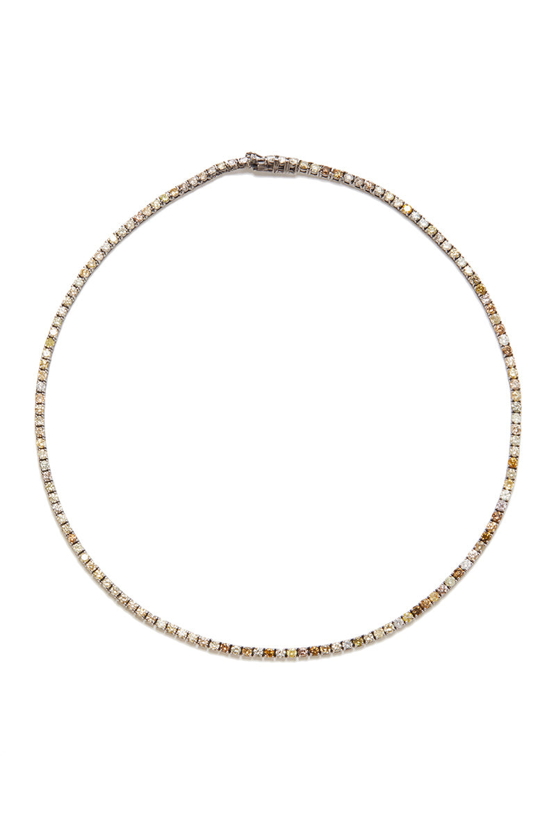 Madison Diamond Tennis Necklace