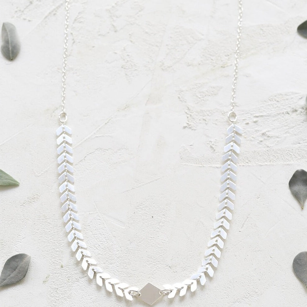 Collier Andromeda - argent