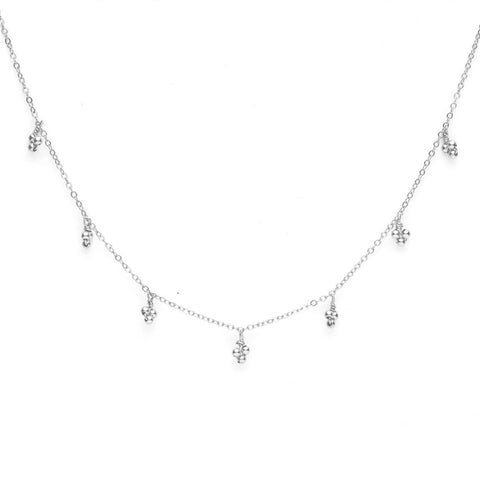 Collier Cosmic Galaxie - argent