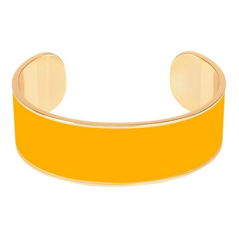 Bangle Jonc - jaune safran