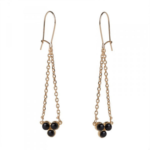 Boucles Grappe - Onyx