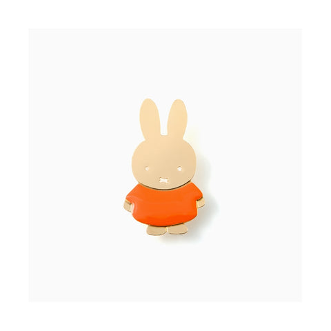 Pin's Miffy - orange