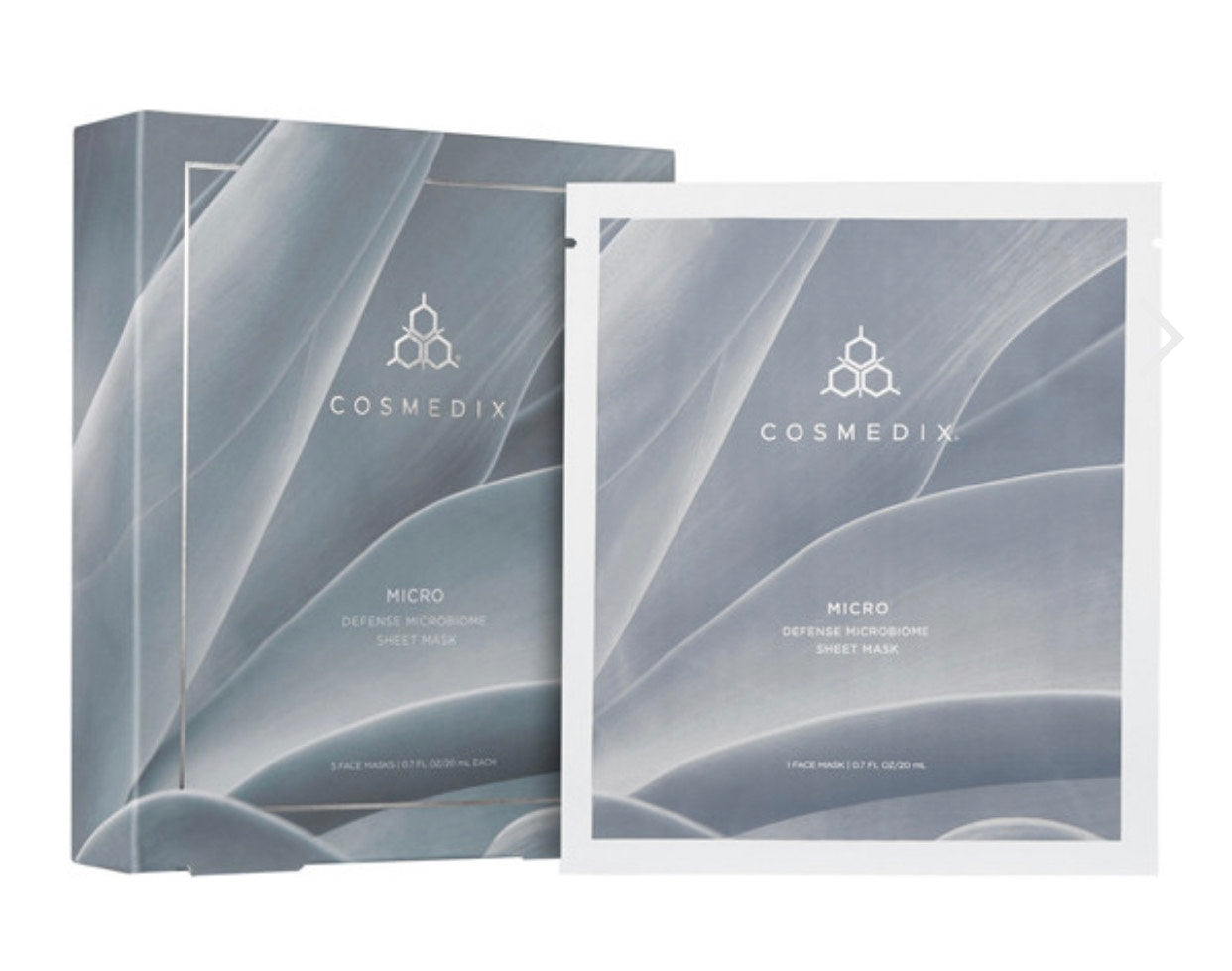 Cosmedix Defense Microbiome Sheet Mask Set (5 masks)