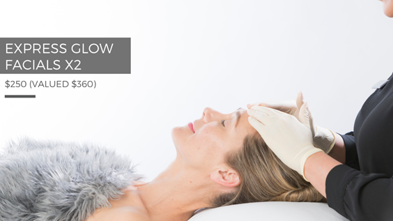 Mother's Day Express Glow Facial x 2