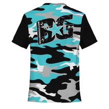 Load image into Gallery viewer, BG Turquoise Camo Jersey