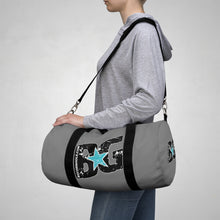 Load image into Gallery viewer, BG Cornhole Gray Duffel Bag