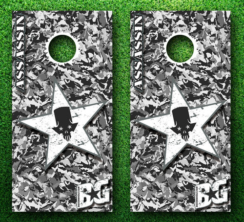 BG Assassin Ghost Recon Pinnacle Pro Series Cornhole Boards