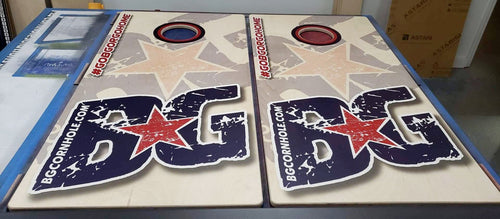 BG Graphics Pinnacle Pro Series Cornhole Boards