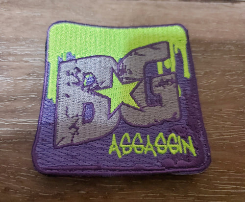 BG Bloodstain Assassin Bag Patch