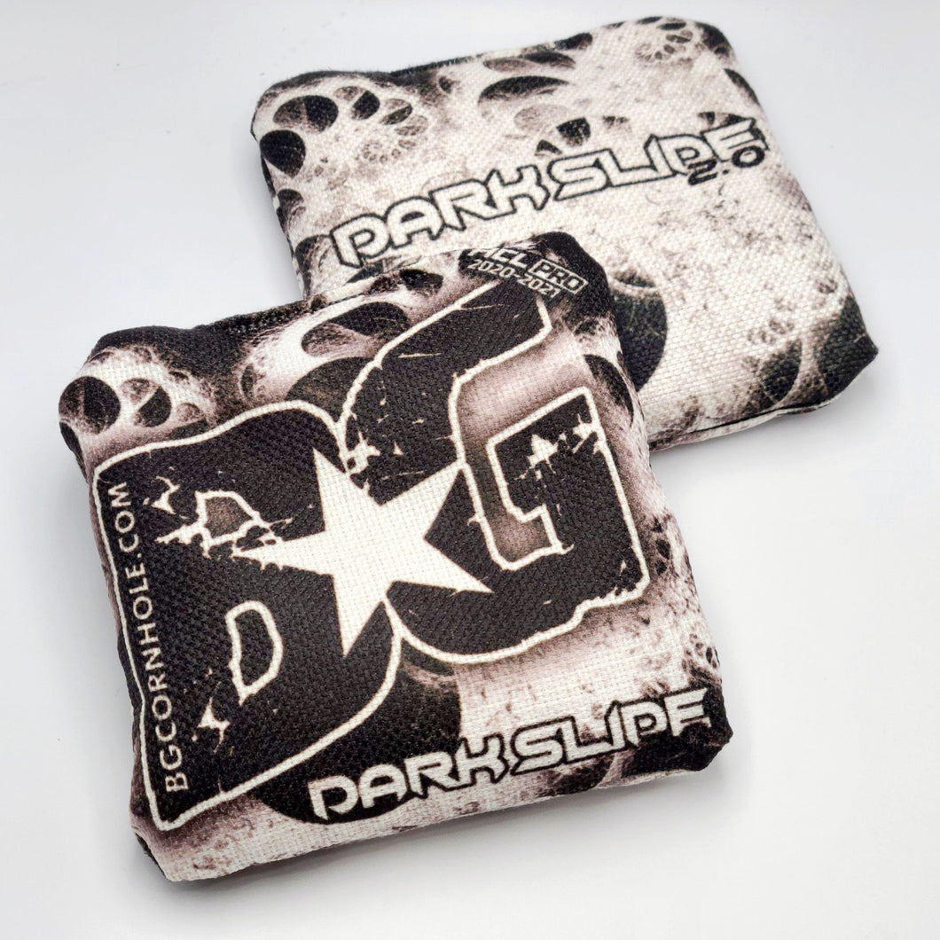 BG Dark Slide 2.0 - ACL Pro Stamped Cornhole Bags - HALF SET OF 4 BAGS
