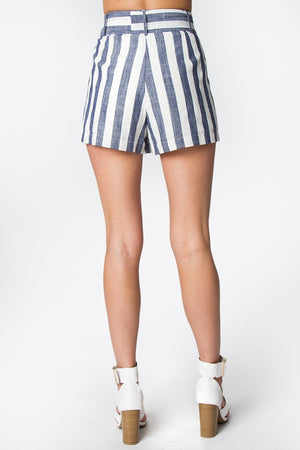 Vacation Striped Shorts
