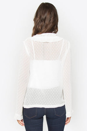 Loyal Hearts Polka Dot Top