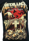 Metallica-Master of Puppets Metal Band T-Shirt