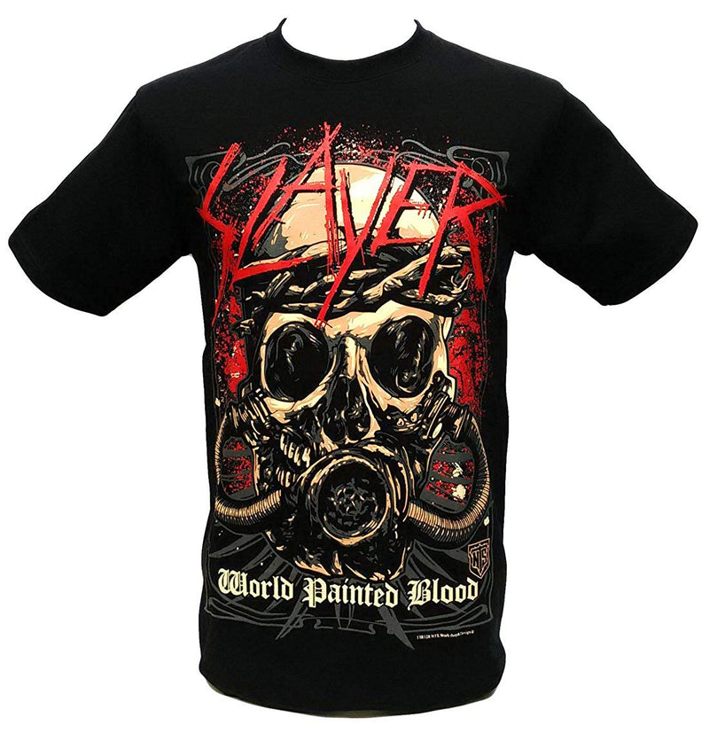 Slayer-World Painted Blood Heavy Metal T-Shirt