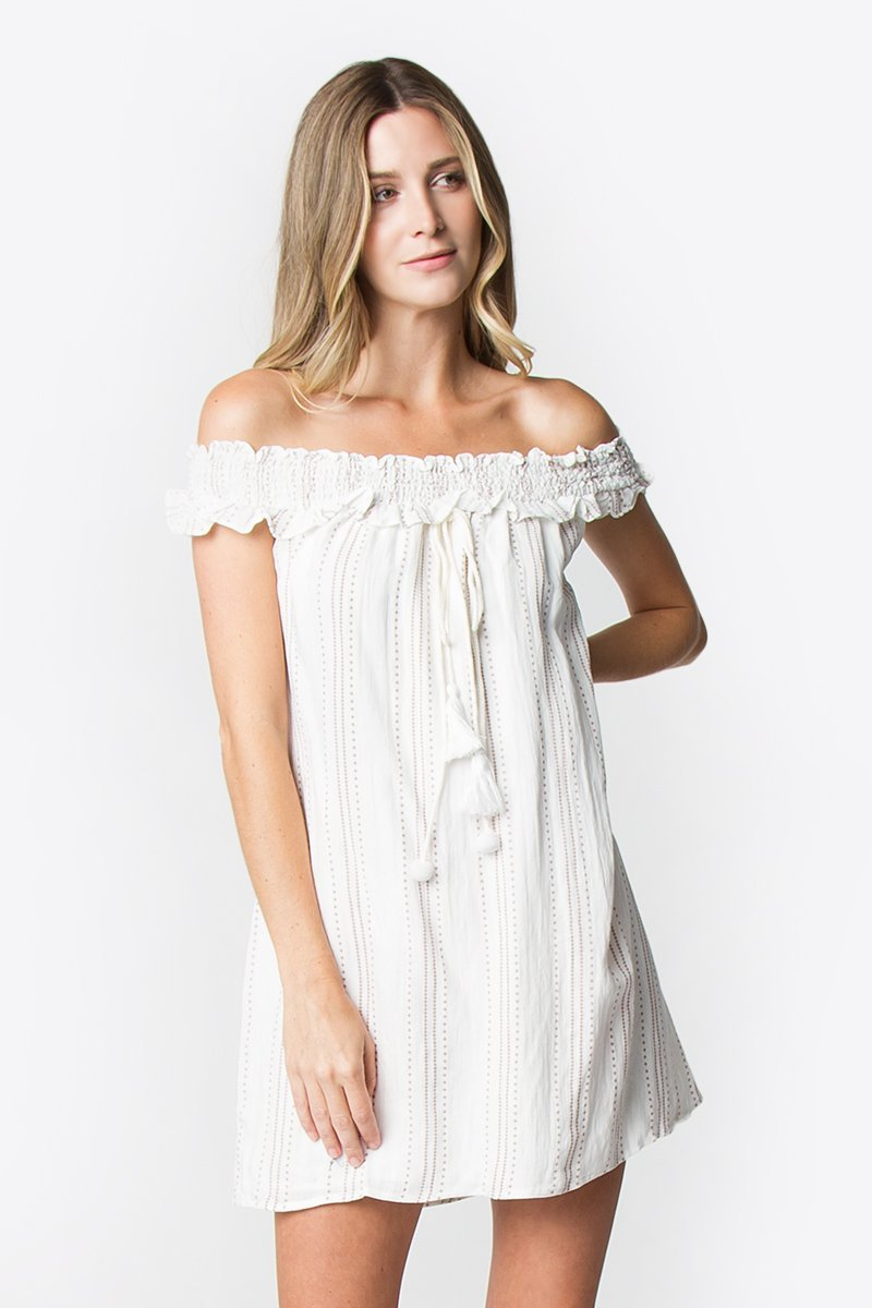 Sheeran Off The Shoulder Dress