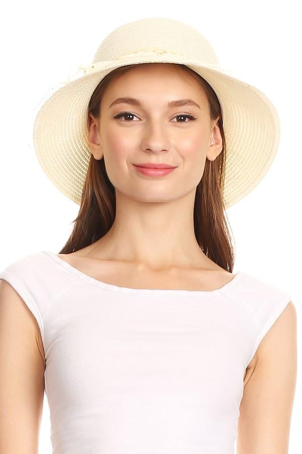Straw Floral Hat