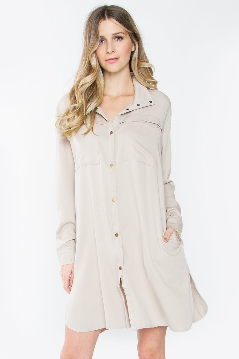 Dafney Button Down Jacket