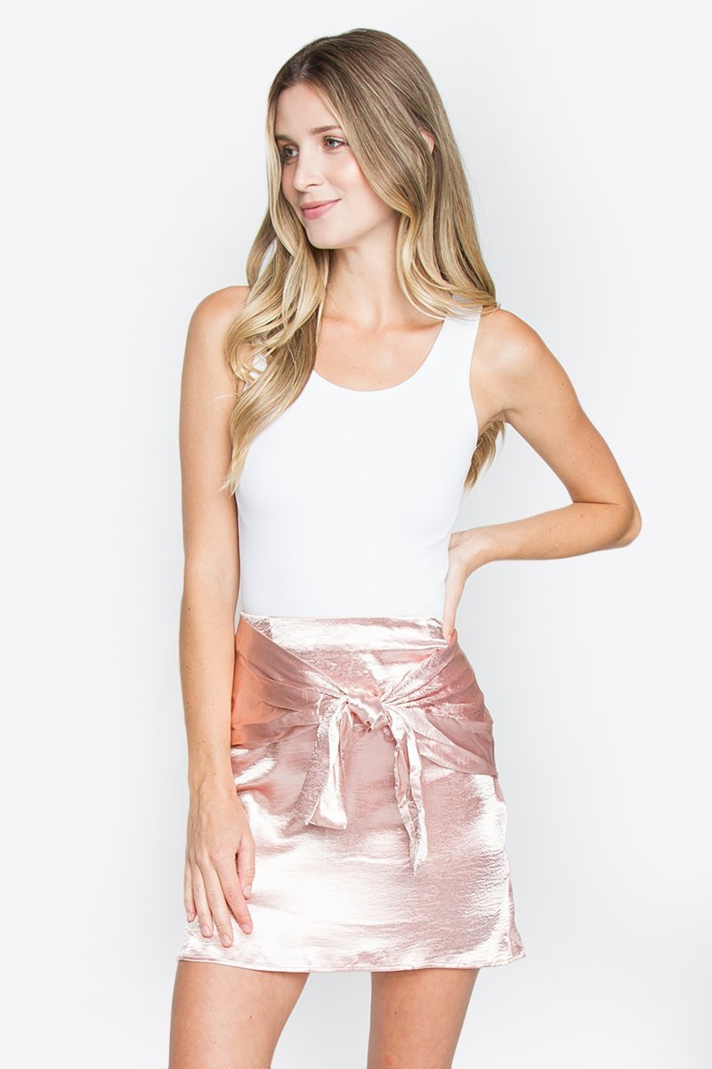 Elyse Satin Skirt
