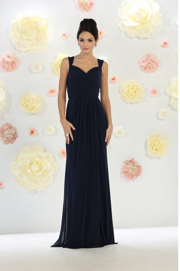Sleeveless Flutter Sweetheart Gown