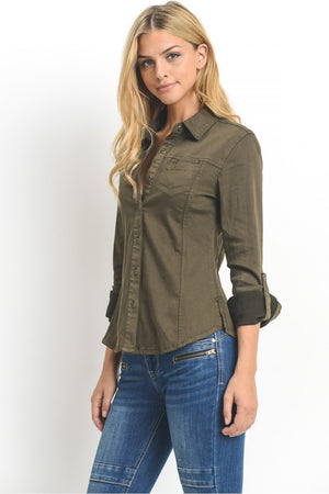Long Sleeve Button Down Shirt