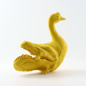 Duck + Dinosaur's head