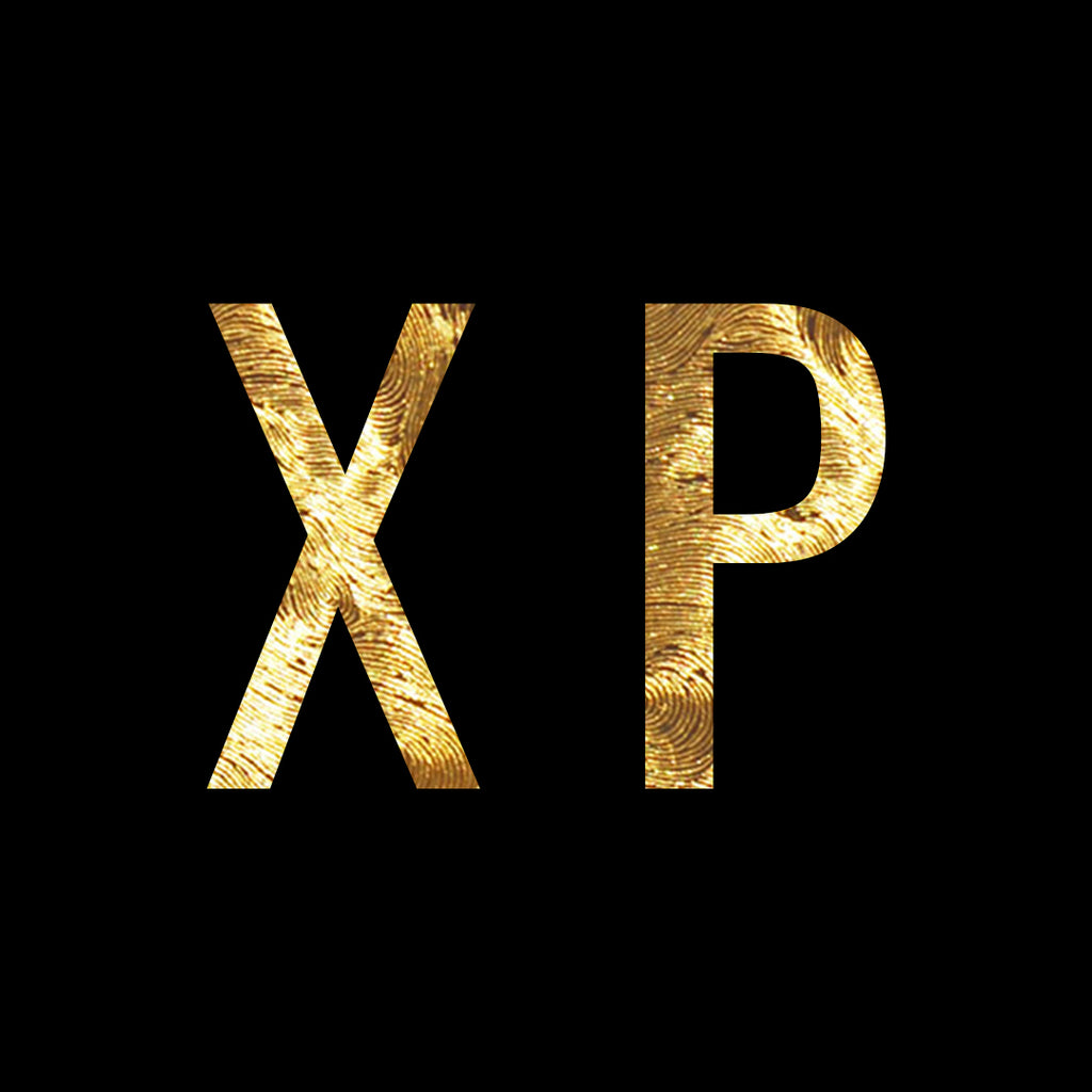 XP with gold background