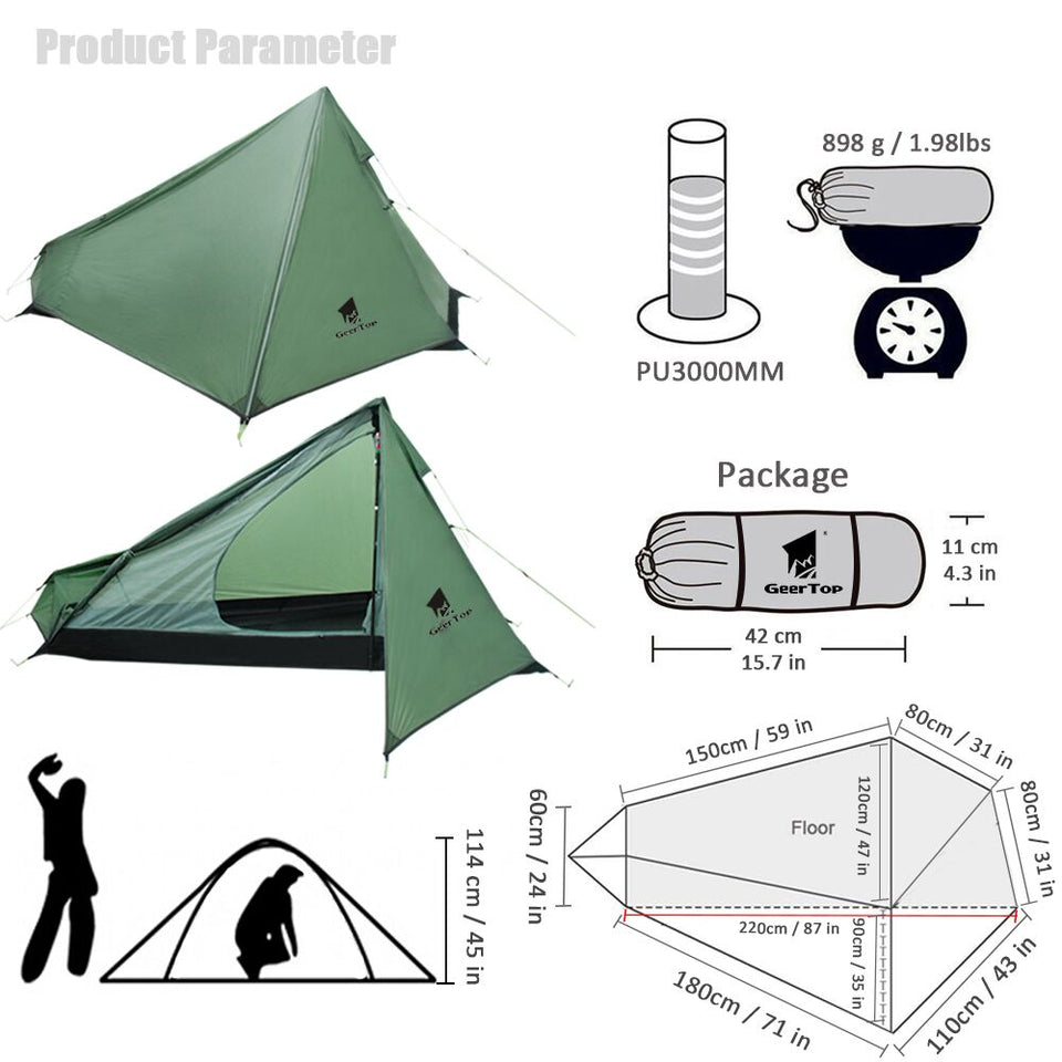 Ultralight Camping Tent