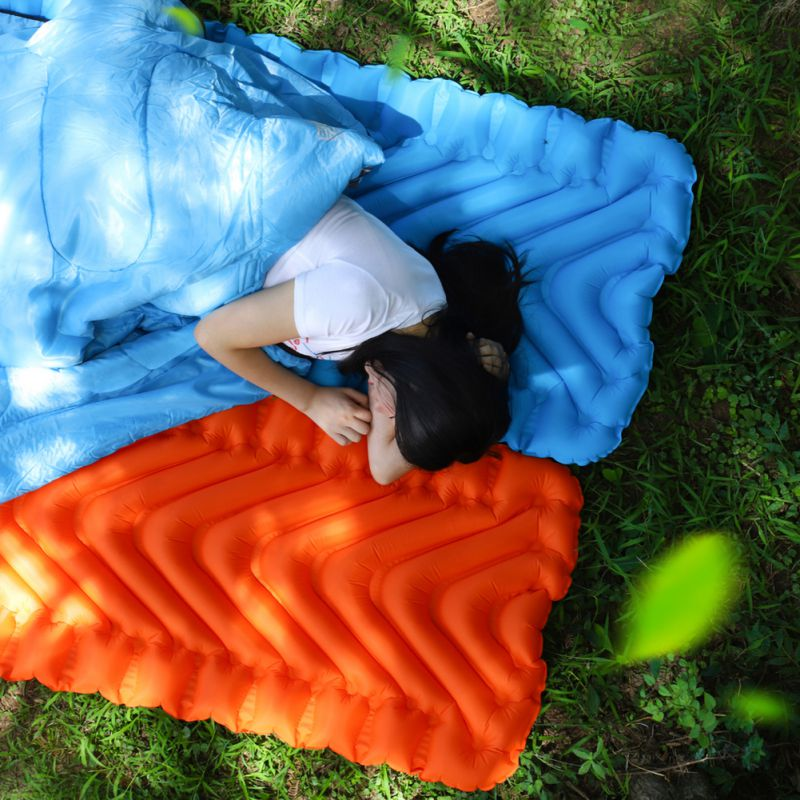 Outdoor Inflatable Cushion Sleeping Mattress
