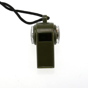 3 in 1 Outdoor Camping Hiking Whistle