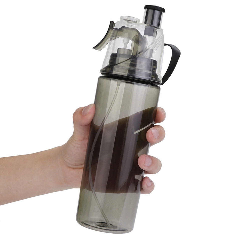 600ML Sport Spray Cooling Bottle