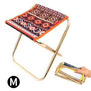 Outdoor folding stool small chair