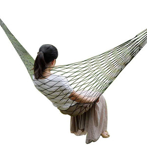Mesh Nylon Hammock  For Camping