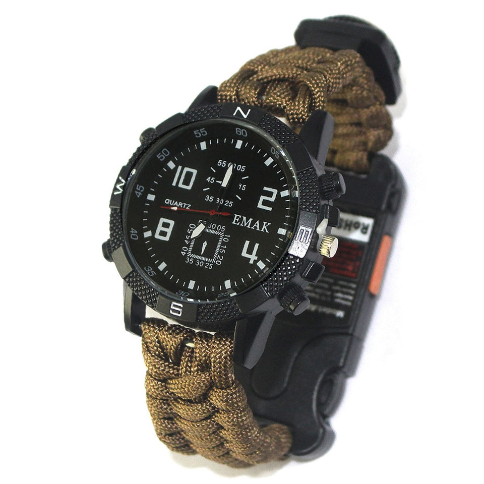 Survival Watch. Multifunction Writs Tool.