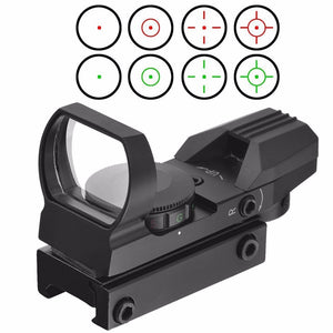 Holographic Red Dot  Reflex Sight - 4 Reticle