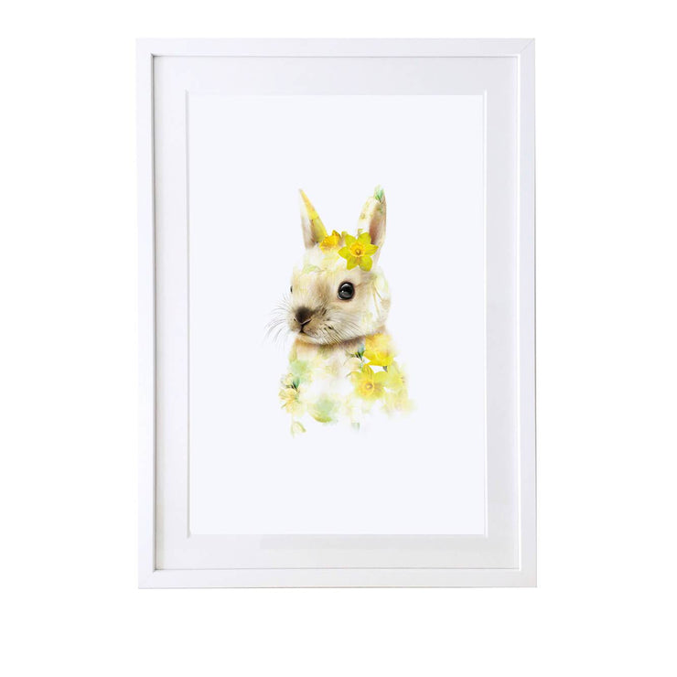 Bunny Art Print - Lola Design Ltd