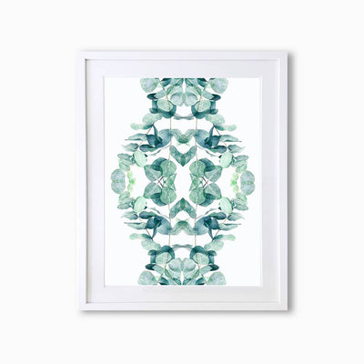 Eucalyptus Botanique (Pattern) Art Print - Lola Design Ltd