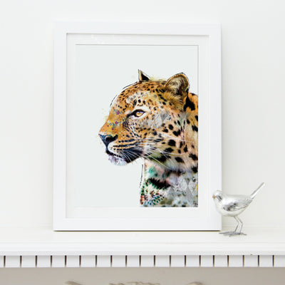 Leopard Art Print - Lola Design Ltd