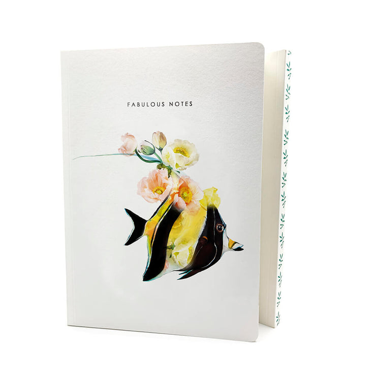 Moorish Idol Luxury Notebook - Lola Design Ltd