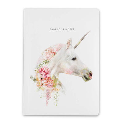 Unicorn Luxury Notebook - Lola Design Ltd