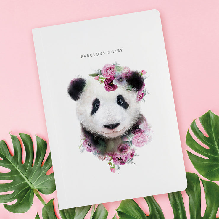 Panda Luxury Notebook - Lola Design Ltd
