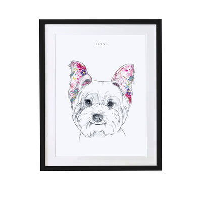 West Highland Terrier Personalised Pet Portrait - Lola Design Ltd