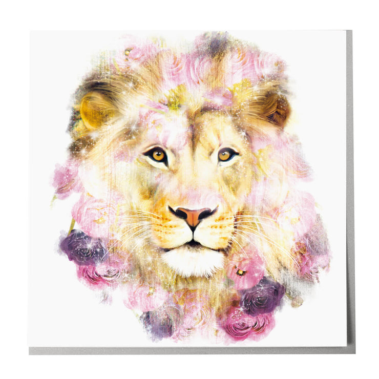 Lion Card - Lola Design Ltd