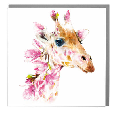 Giraffe Card - Lola Design Ltd