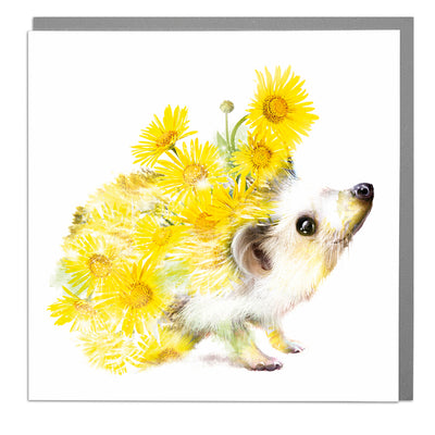 Hedgehog Card - Lola Design Ltd