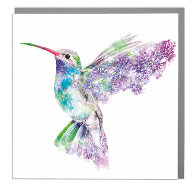 Hummingbird Card - Lola Design Ltd